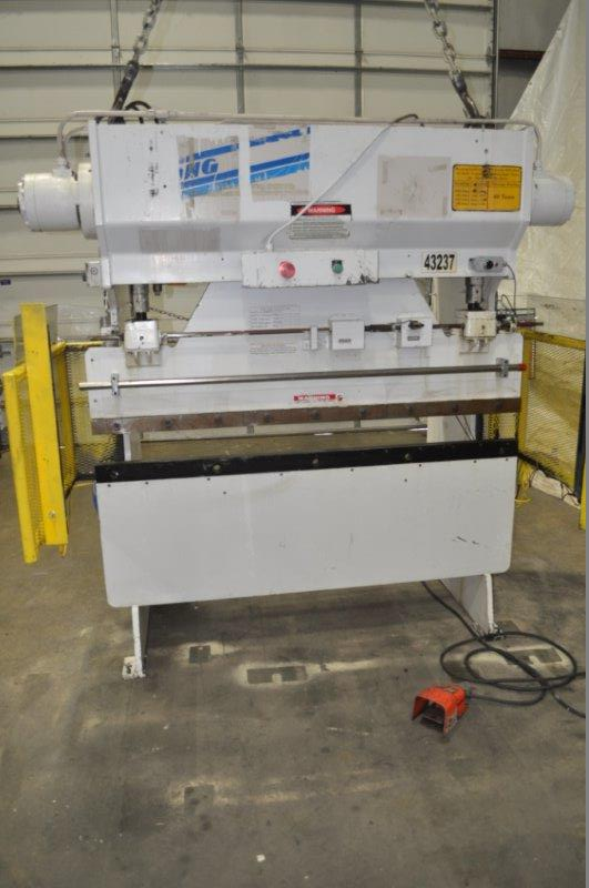 40 TON x 6′ WYSONG HYDRA MECHANICAL PRESS BRAKE