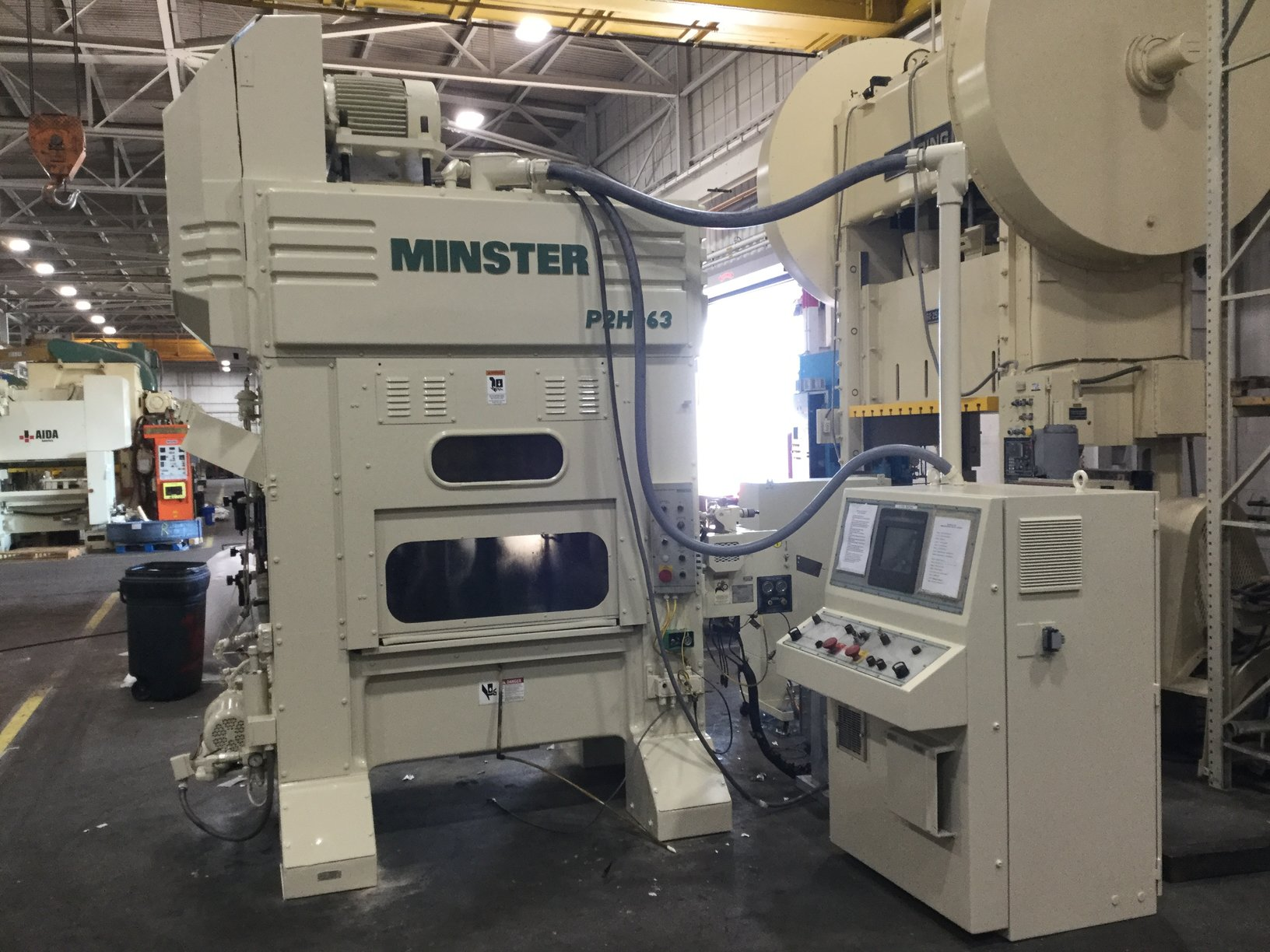 MINSTER P2H-63 HIGH SPEED PRESS