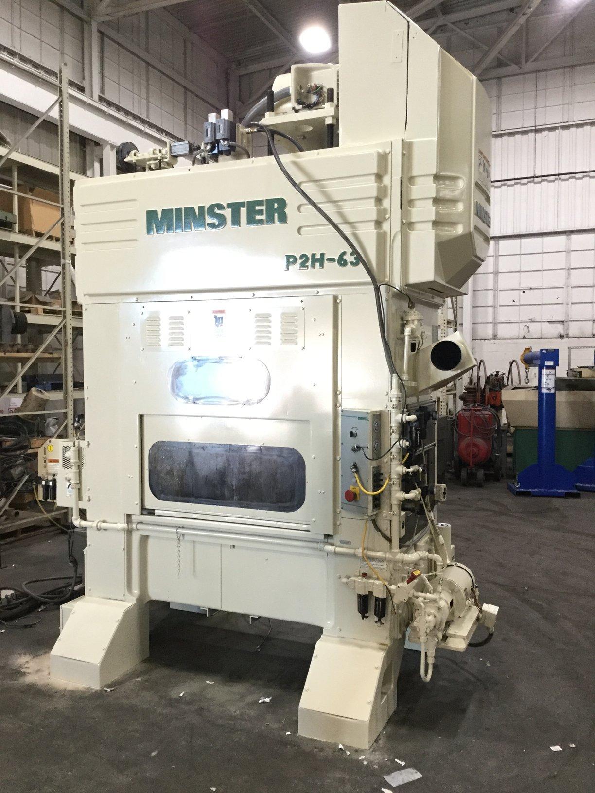 MINSTER P2H-63 HIGH SPEED PRESS