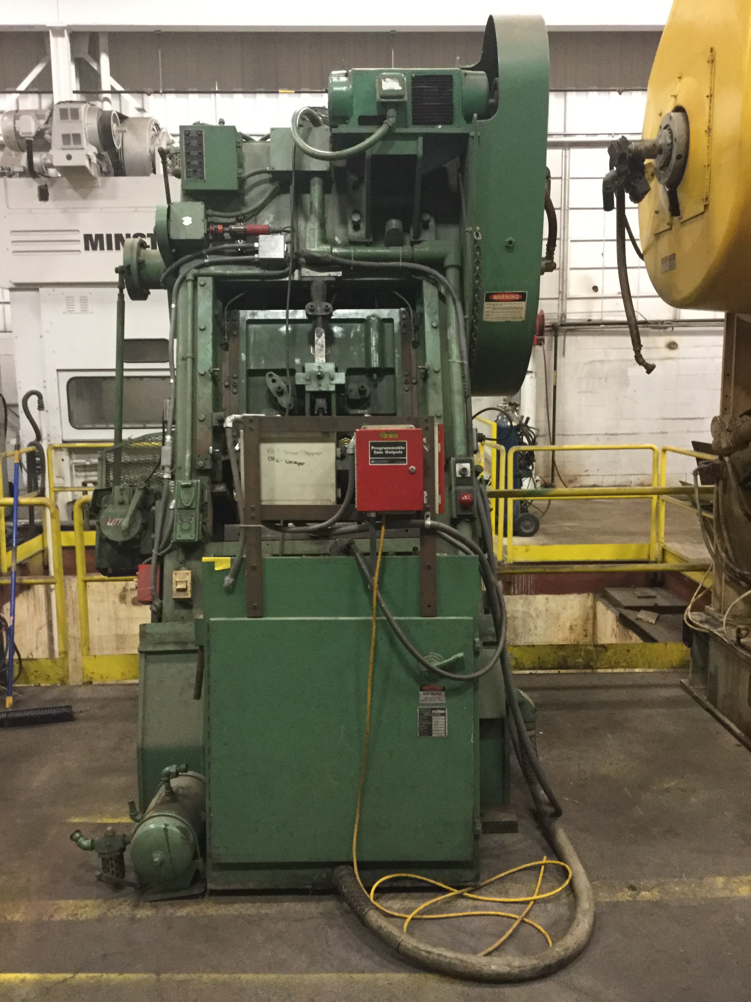60 TON MINSTER P2-60 SLANT BACK PRESS