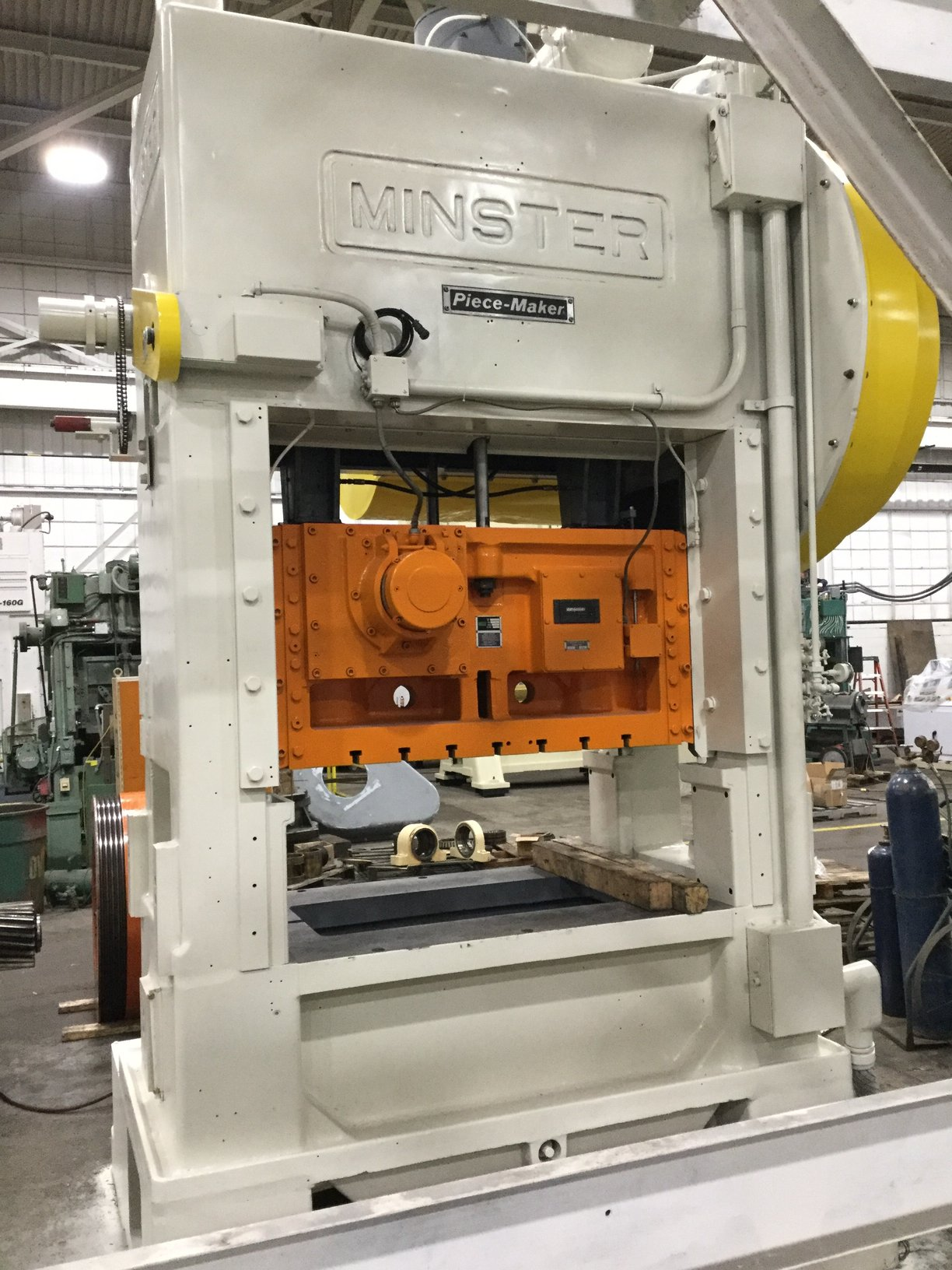 150 TON MINSTER P2-150 STRAIGHT SIDE PRESS
