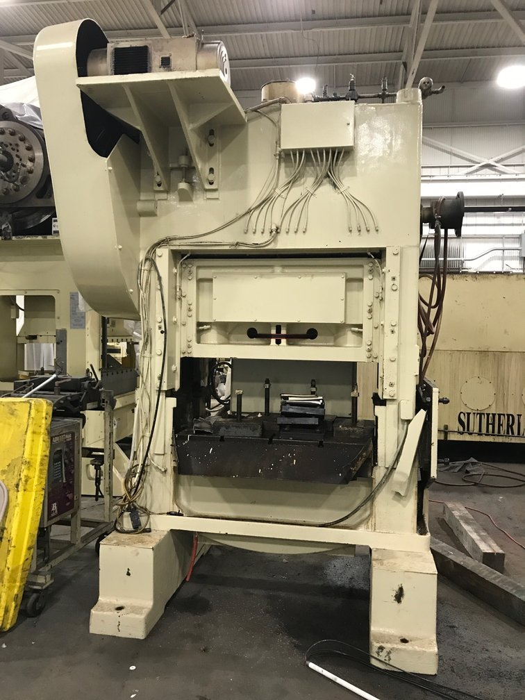 100 TON MINSTER P2-100-48 STRAIGHT SIDE PRESS