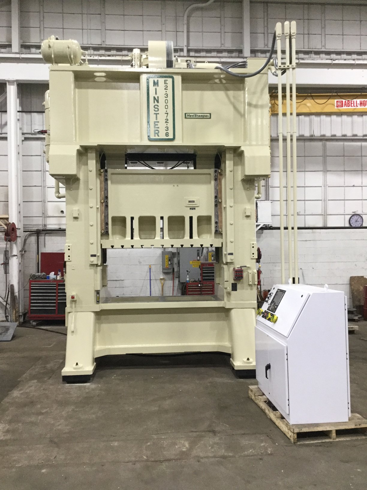 300 TON MINSTER STRAIGHT SIDE DOUBLE CRANK PRESS