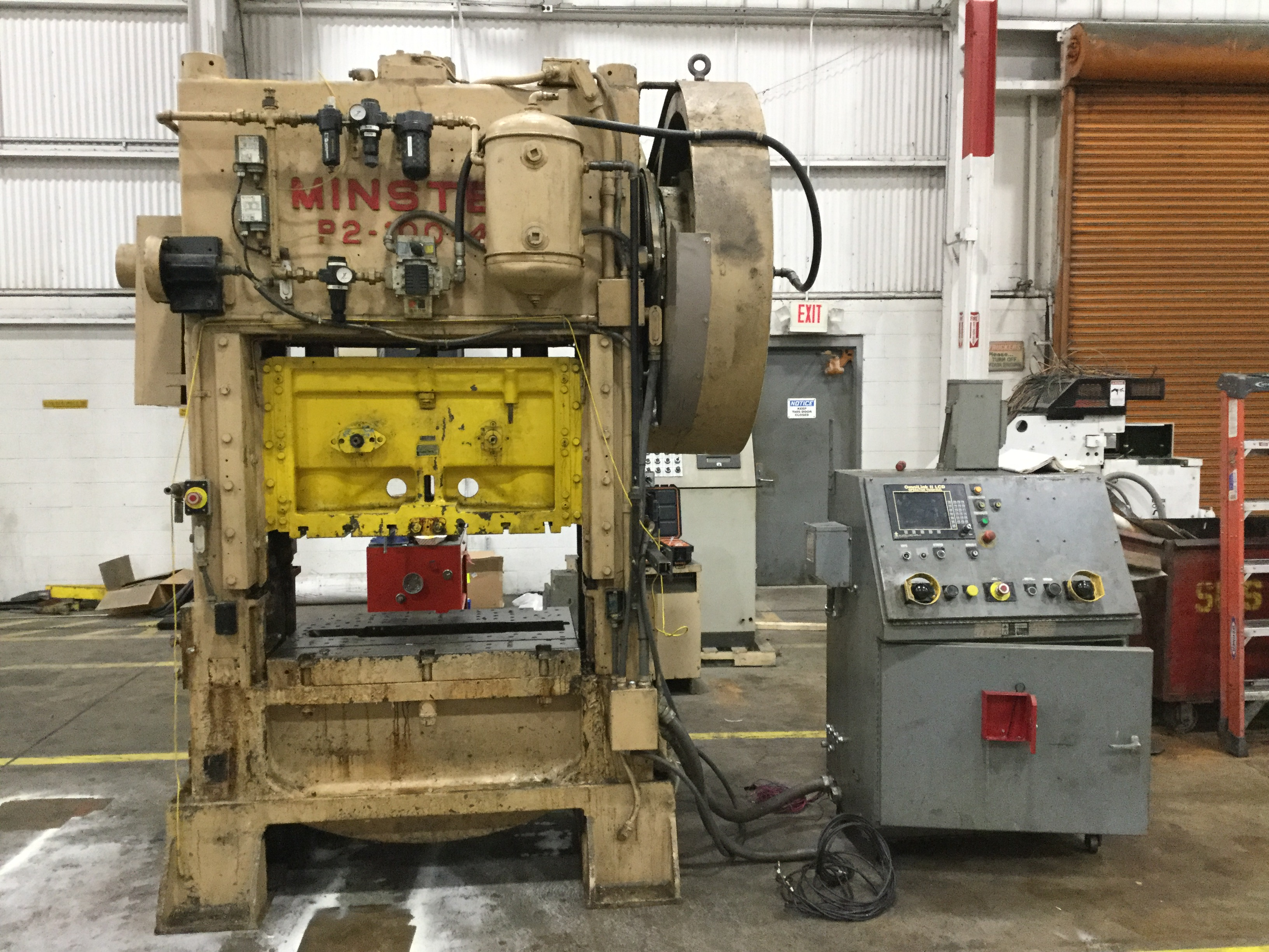 100 TON MINSTER P2-100 STRAIGHT SIDE PRESS