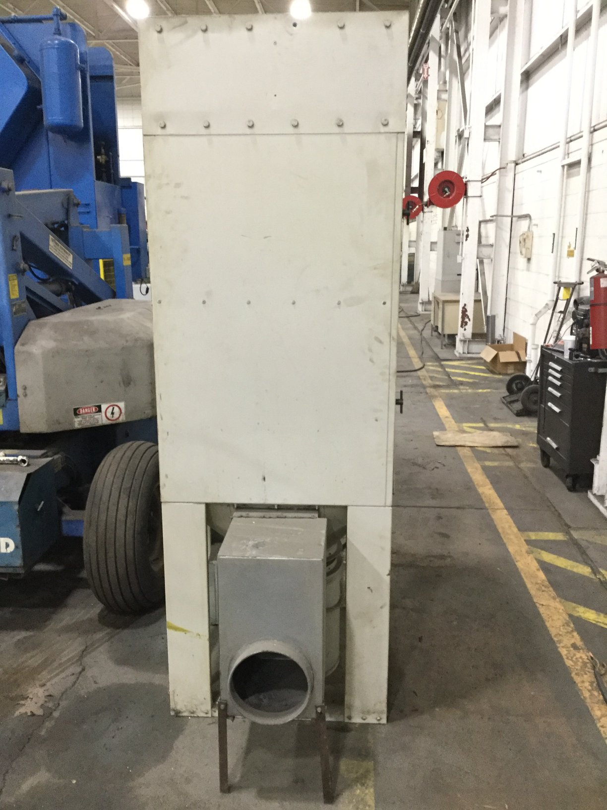 DUST CONTROL EQUIPMENT UNIMASTER 3 HP DUST COLLECTION UNIT