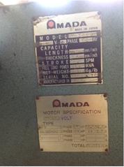 "10' x 1/4"" AMADA POWER SQUARING SHEAR"