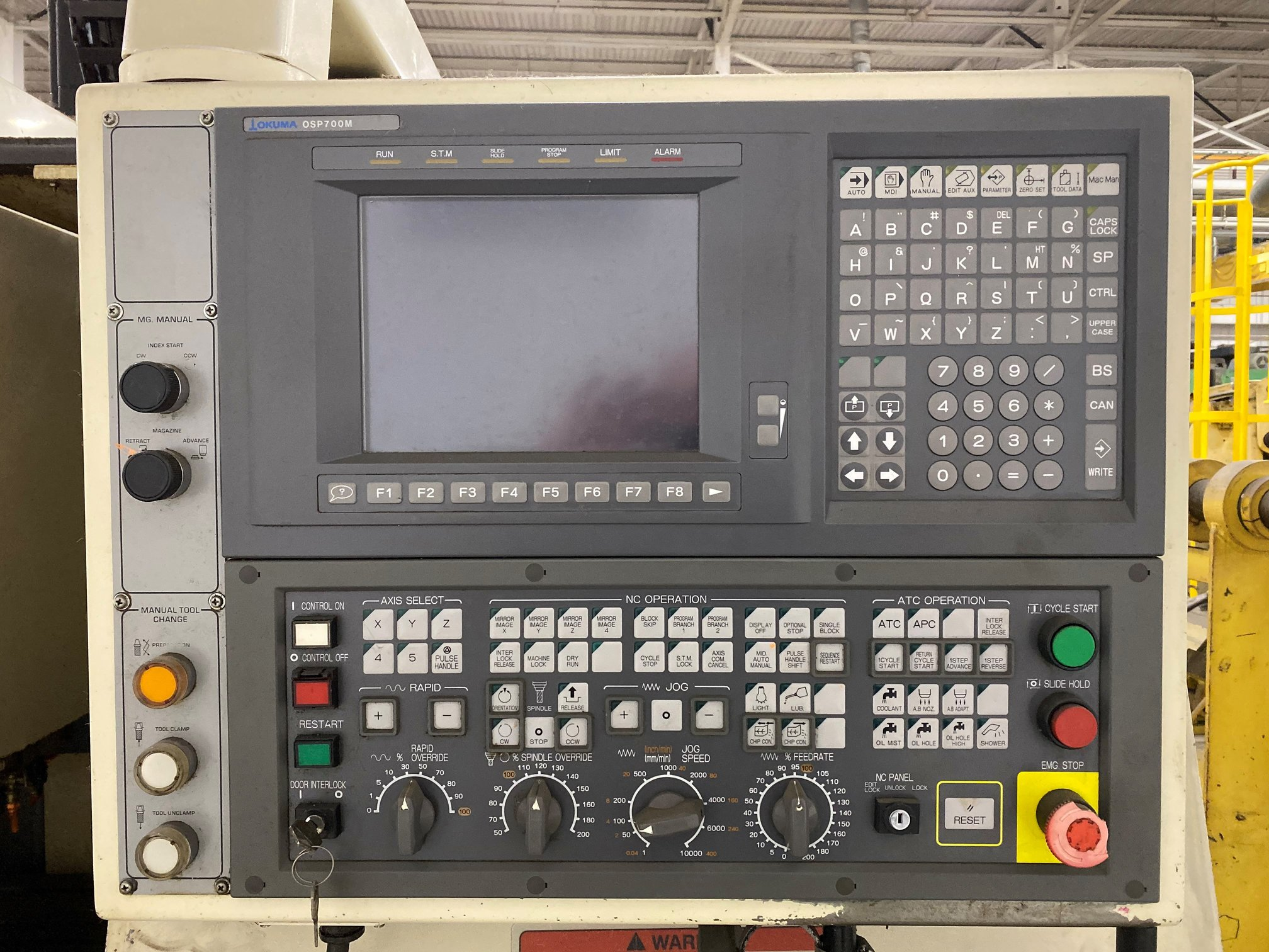 OKUMA CADET MATE CNC VERTICAL MILL