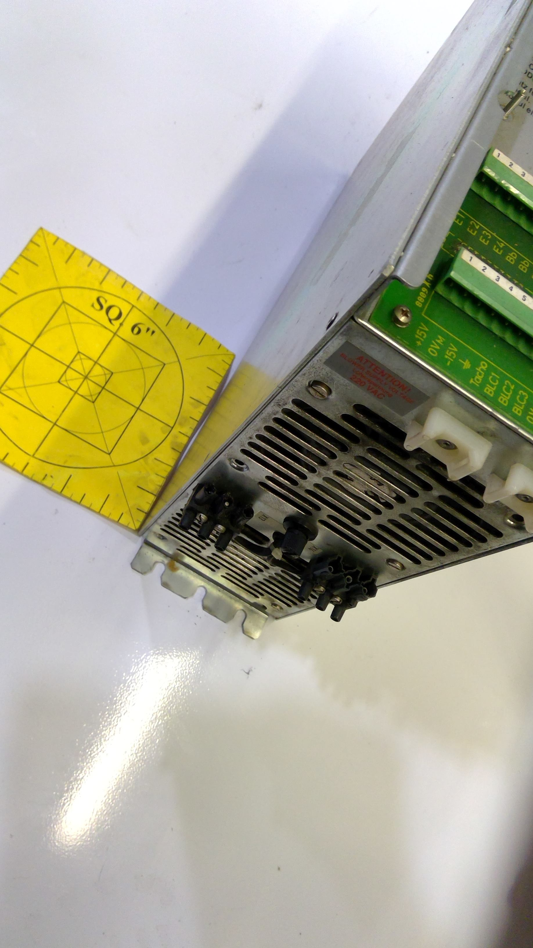 USED INDRAMAT TDM1.2-100-300W1 SERVO CONTROLLER