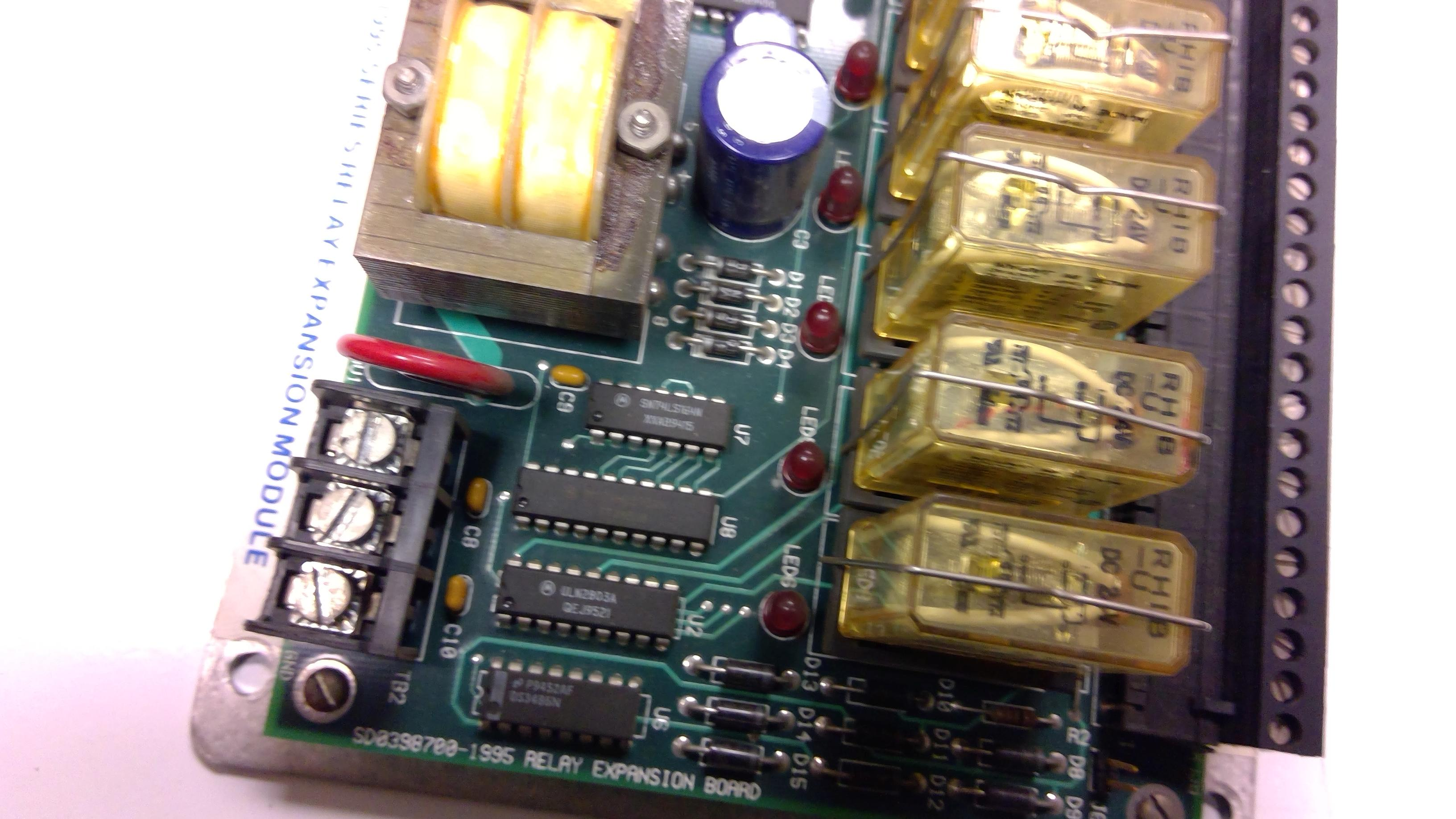 GEMCO SD0398700-1995 RELAY EXPANSION BOARD