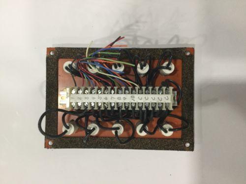 MINSTER MONITOR FLOW LUBE SYSTEM INDICATOR LIGHT PANEL