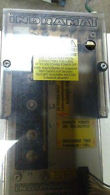 INDRAMAT TVM1.2-050-220/300-W0/220/380V AC SERVO POWER SUPPLY