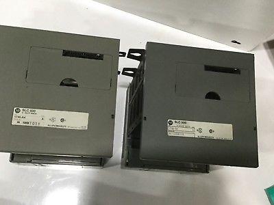 ALLEN-BRADLEY SLC 500 POWER SUPPLY 1746-P1, SER-A, 4 SLOT RACK, 1746-A4, SER-A