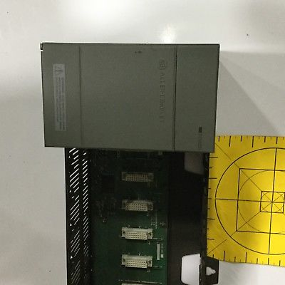 ALLEN-BRADLEY SLC 50013 SLOT RACK 1746-A13 SER 