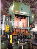 200 TON NIAGARA DOUBLE CRANK GAP PRESS