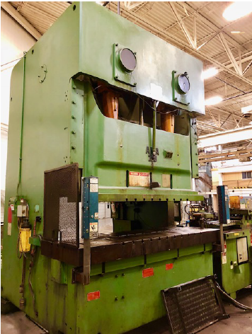 275 TON AIDA NC2-250 DOUBLE CRANK GAP PRESS