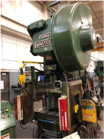 75 TON MINSTER 'DIE NAMIC' FLYWHEEL OBI PRESS