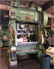 150 TON MINSTER P2-150-60 'PIECEMAKER' STRAIGHT SIDE PRESS