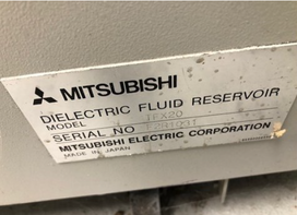 USED MITSUBISHI MODEL FX20 WIRE EDM