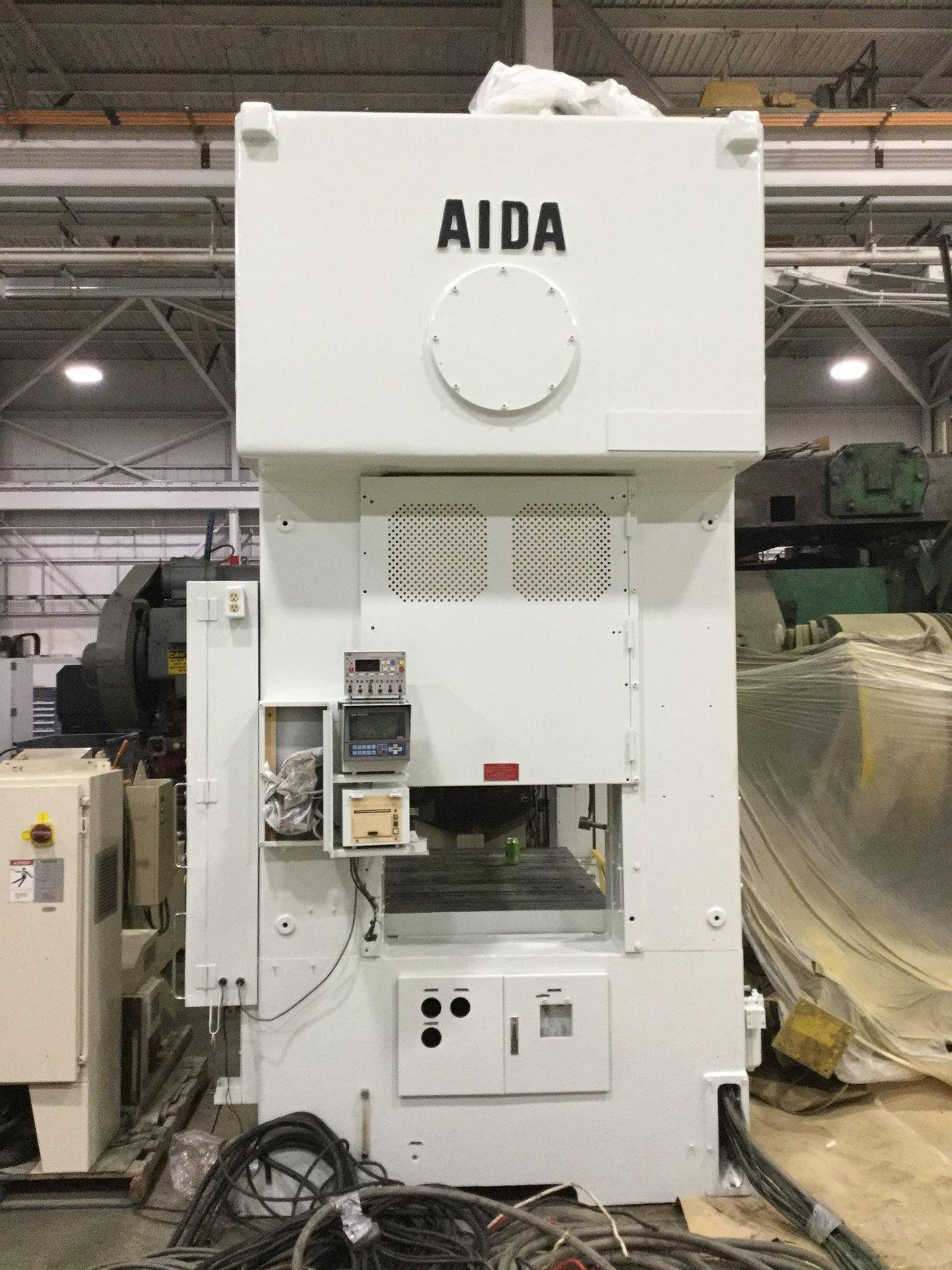 220 TON AIDA PMX-200 STRAIGHT SIDE DOUBLE CRANK PRESS
