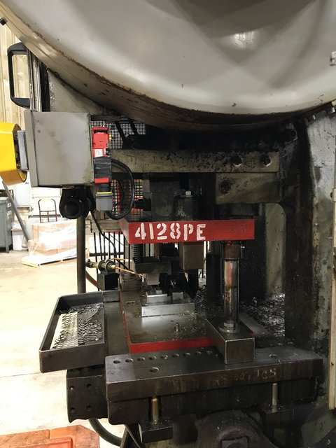 45 TON JOHNSON FLYWHEEL PRESS