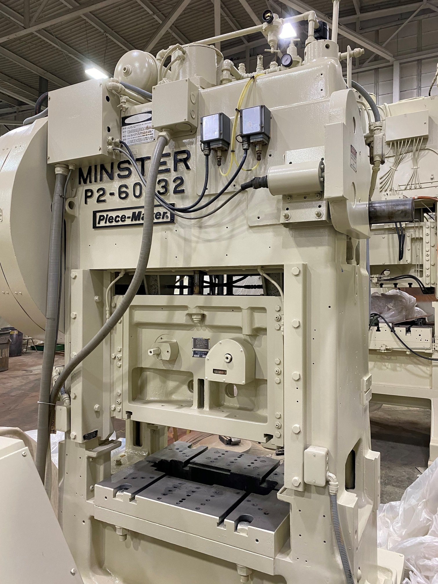 "60 TON MINSTER P2-60 ""PIECE-MAKER"" STRAIGHT SIDE PRESS"