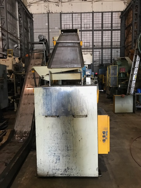 "10,000 LBS x 18"" WIDE COIL CRADLE & STRAIGHTENER"
