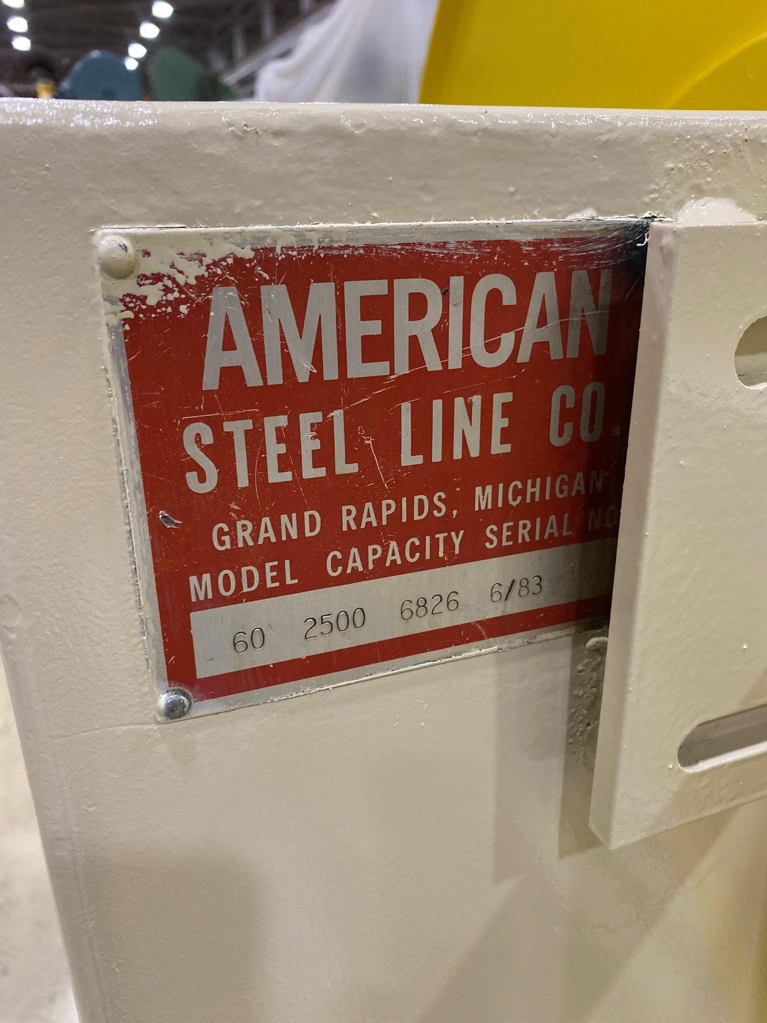 AMERICAN STEEL LINE/ROWE BACK END