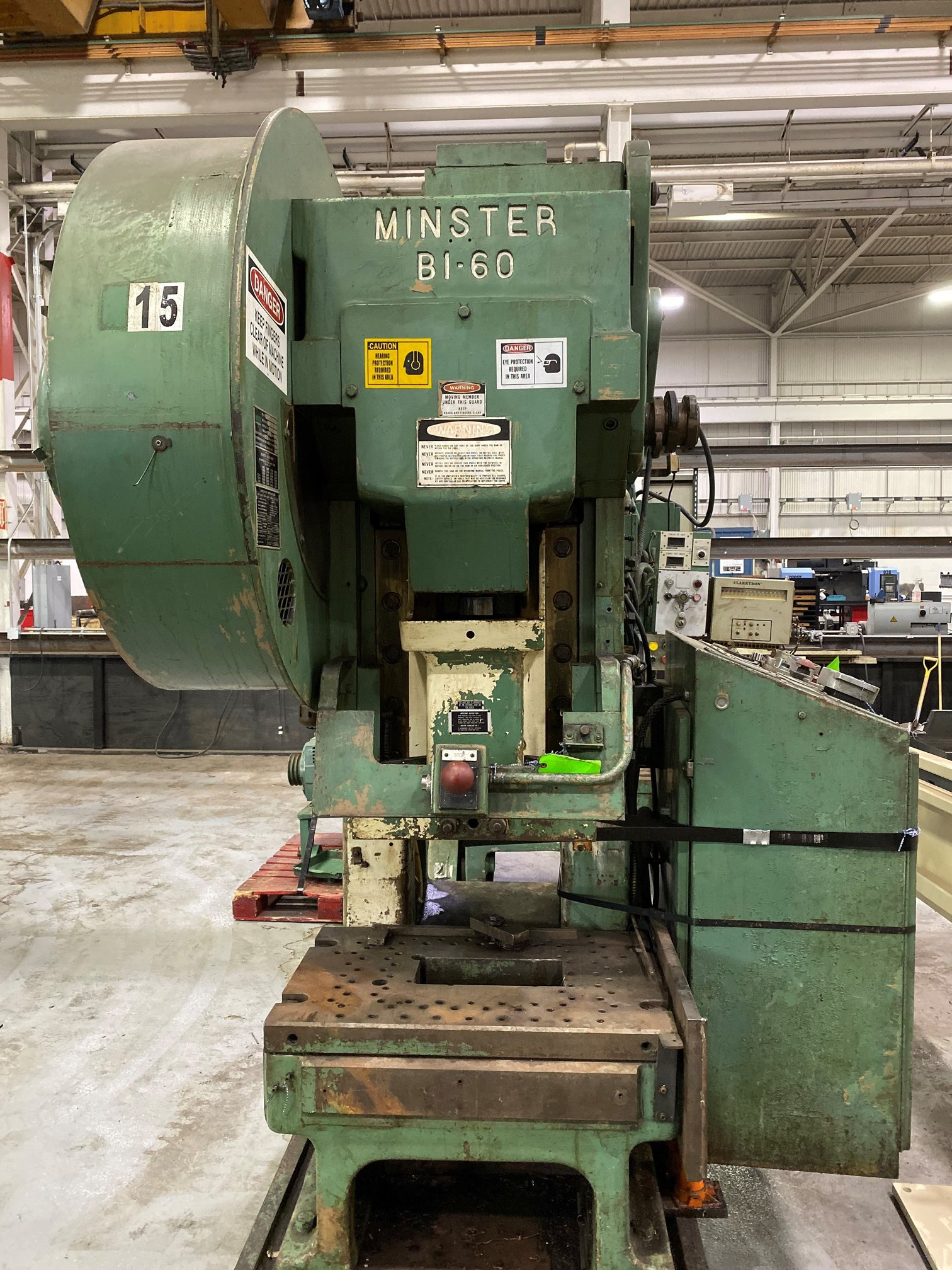 60 TON MINSTER B1-60 FIXED BASE GAP FRAME PRESS