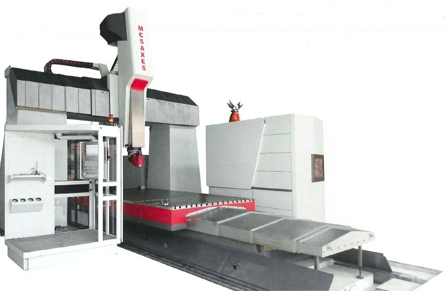 Lucas Fermat MC5AXES Bridge Type Milling Machine