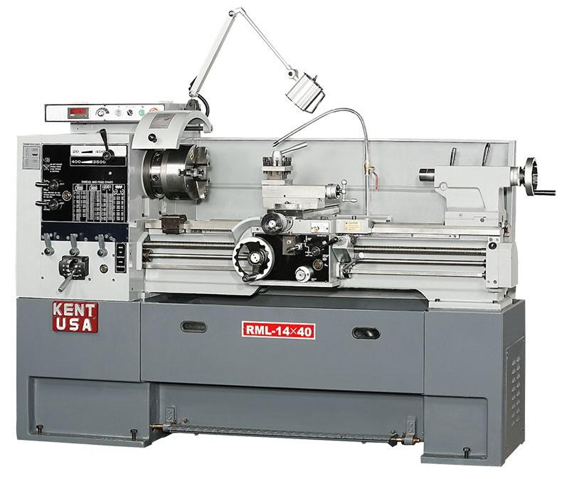 Kent RML-1440VT Manual Precision Lathe