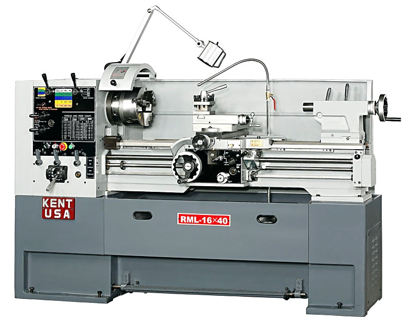 Kent RML-1640T Manual Precision Lathe