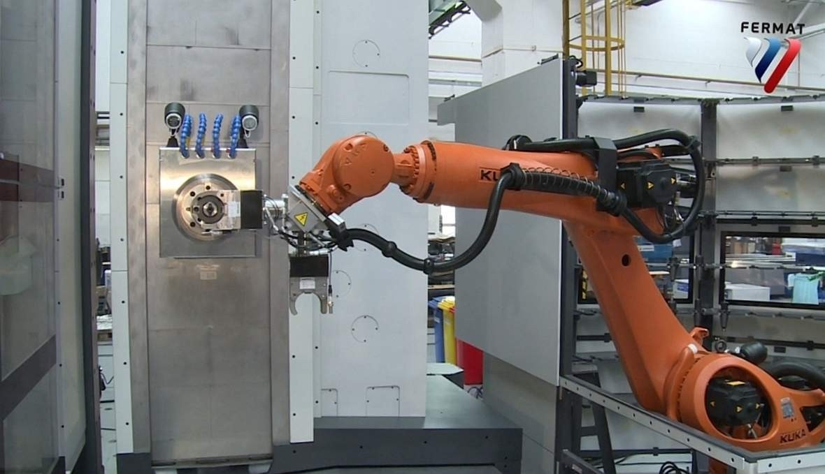 Lucas Fermat Robotic Tool Changer
