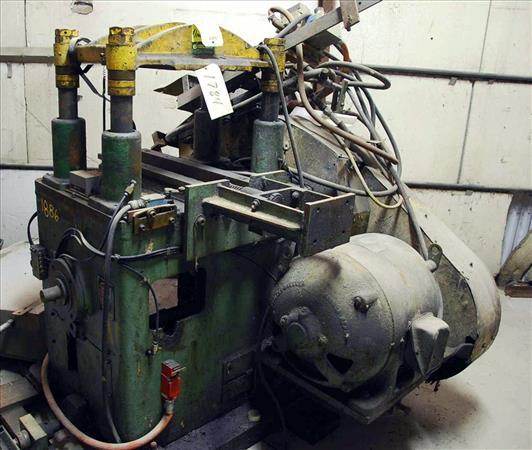 ALPHA P-40 4-POST CUT-OFF PRESS