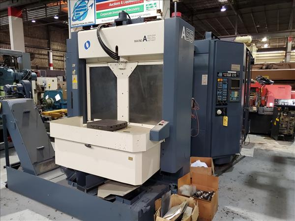 MAKINO A55 CNC HORIZONTAL MACHINING CENTER