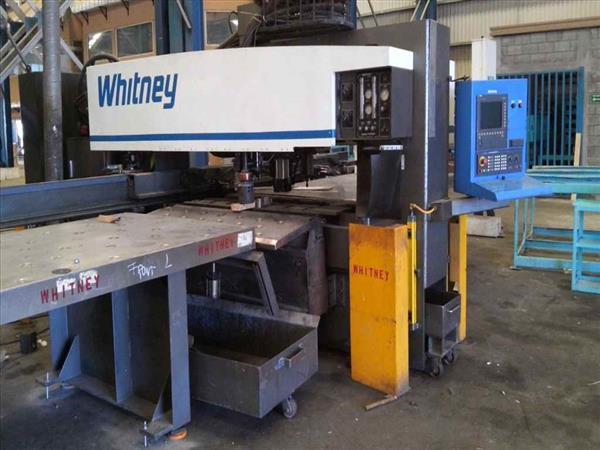 WHITNEY 3400 XP CNC PUNCH & PLASMA