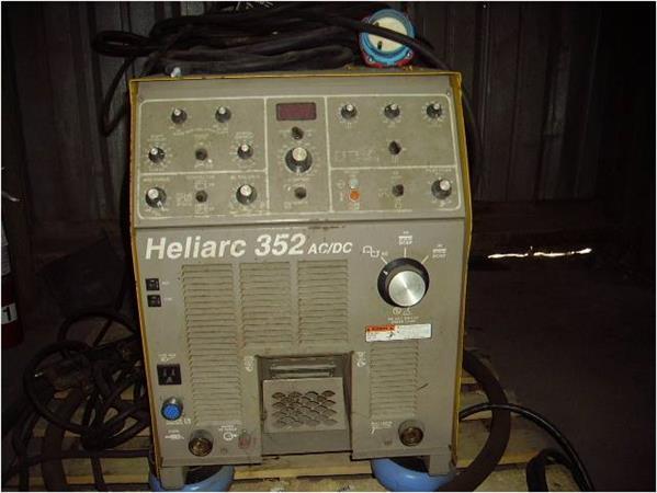 ESAB HELIARC 352 AC/DC TIG WELDING POWER SUPPLY