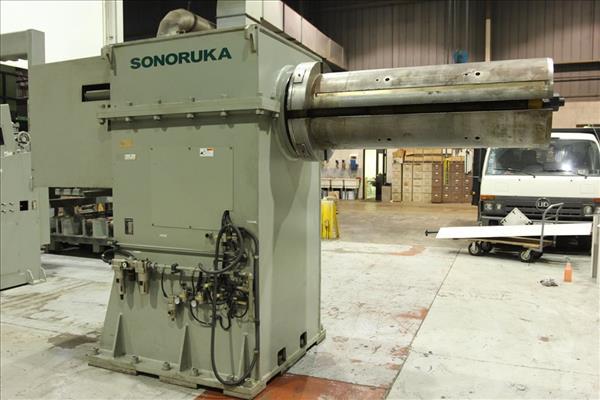 "SONORUKA UC-15130VHCB 44,000 LB X 51"" MOTORIZED COIL REEL"