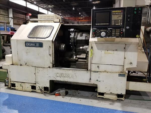 OKUMA LB-25 CNC LATHE