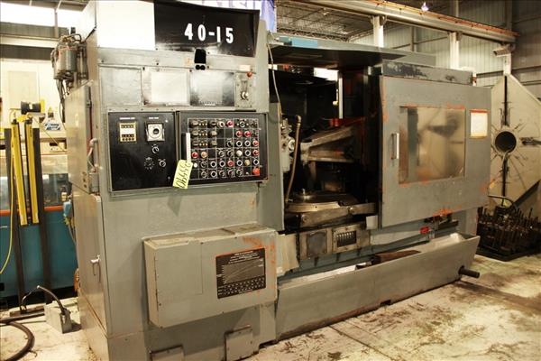 BARBER & COLMAN 40-15 VERTICAL GEAR HOBBER