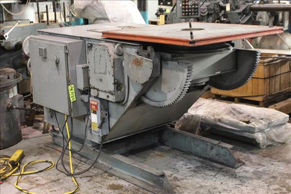 KOIKE ARONSON GE90CS TILT / TURN GEARED ELEVATION WELDING POSITIONER