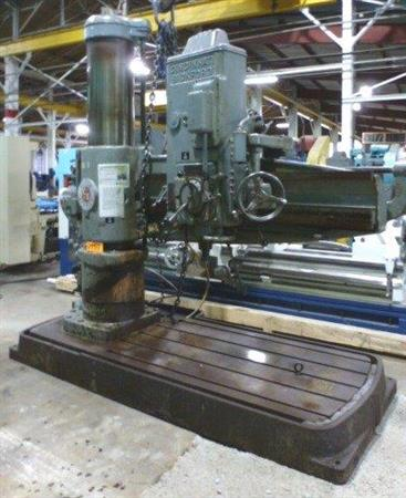 "CINCINNATI BICKFORD 6' X 17"" RADIAL ARM DRILL"