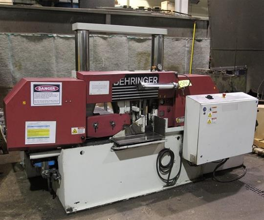 BEHRINGER HBP360A DUAL COLUMN AUTOMATIC HORIZONTAL BAND SAW
