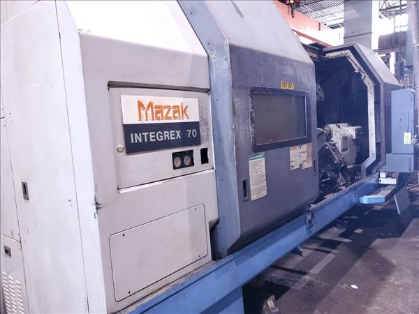 MAZAK INTEGREX 70/2000 CNC MILLING & TURNING CENTER