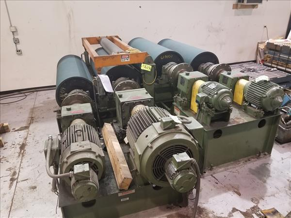 STAMCO HUNTER 4-ROLL TENSIONING BRIDLE ROLLS
