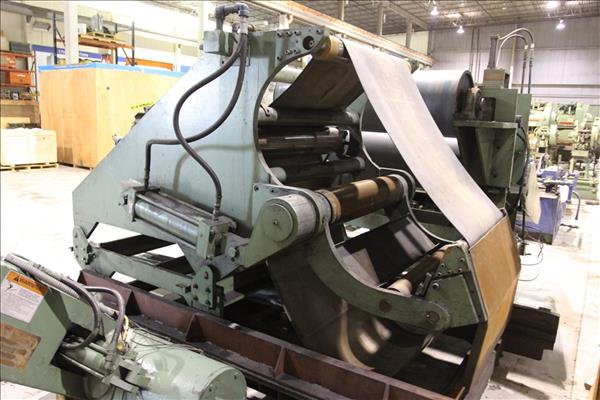 COMPONENTS OF ALUMINUM TENSION LEVELING & COATING LINE