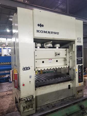 KOMATSU E2M200 STRAIGHT SIDE DOUBLE CRANK PRESS