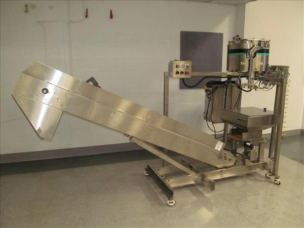 HOPPMAN LB3 CAPSULE COUNTER AND BATCH FEED SYSTEM