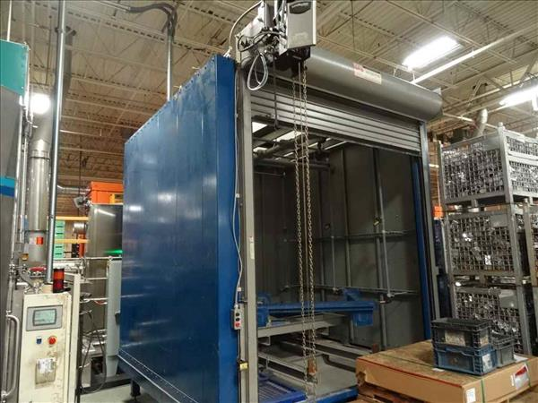GLOBAL FINISHING SOLUTIONS WBB-060606 BATCH WASH BOOTH