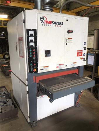 TIMESAVERS SERIES 2200 DRY-TYPE BELT GRINDER