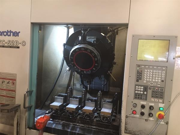 BROTHER TC-S2B-0 CNC DRILLING AND TAPPING CENTER